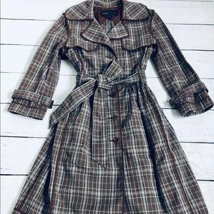 BCBGmaxAzria trench coat xs